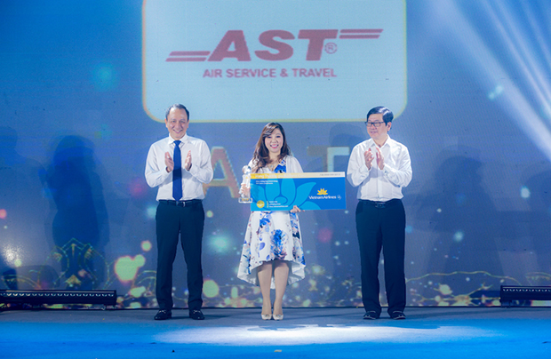 AST vinh dự nhận giải Top 2 Gold Passenger Agent Vietnam Airlines