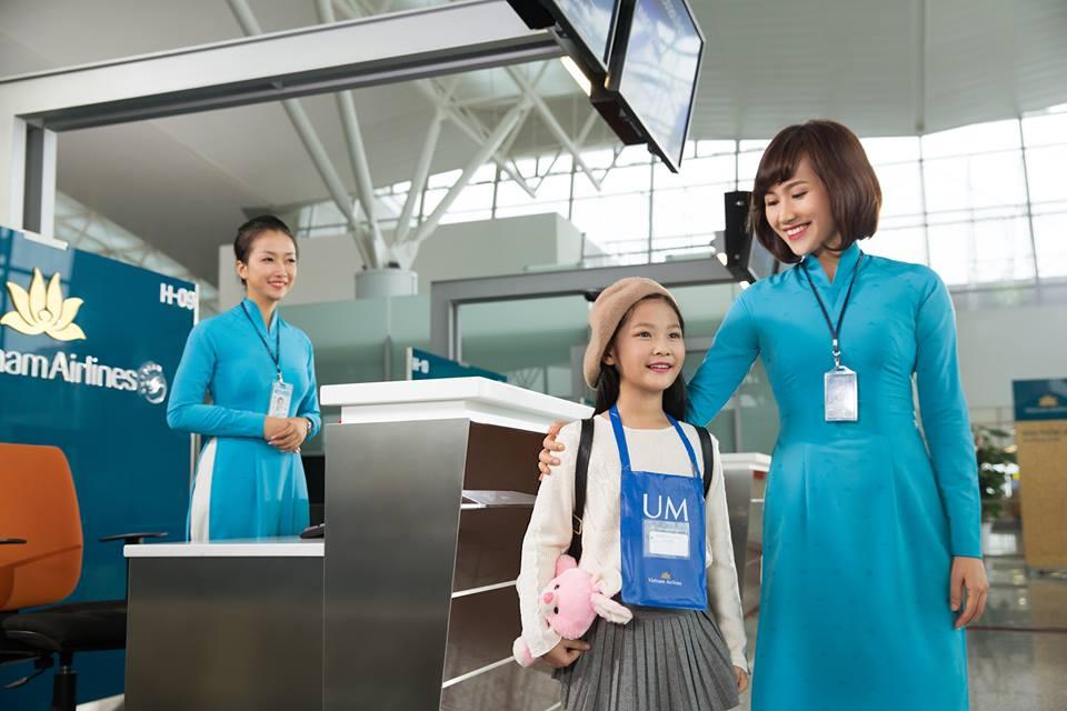 Các dịch vụ đặc biệt dành cho trẻ em khi đi máy bay
