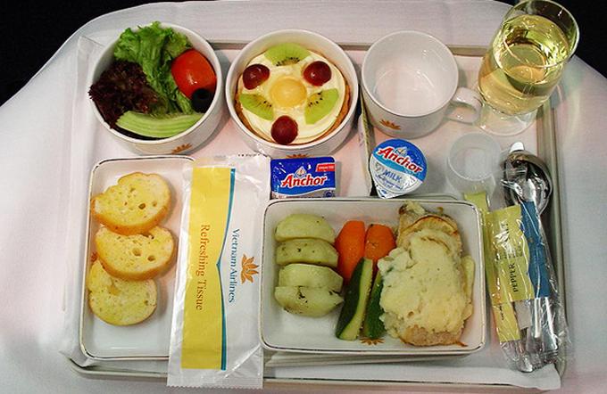 Các loại suất ăn đặc biệt được phục vụ trên máy bay
