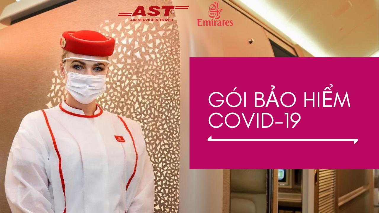 Emirates tung gói bảo hiểm Covid-19 cho toàn bộ hành khách