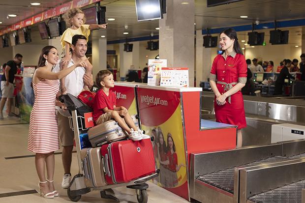 Đặt mua vé máy bay Vietjet giá rẻ