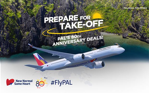 Khuyến mãi 80 năm thành lập của Philippine Airlines!
