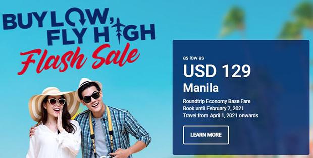 Mua thấp, bay cao với Philippine Airlines giá chỉ từ $129 đến Manila