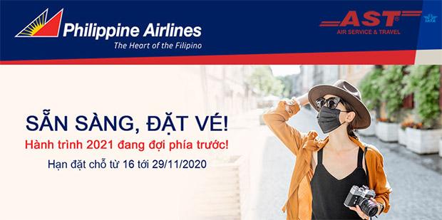 Tận hưởng ưu đãi đặc biệt bay từ Việt Nam đến Philippines chỉ từ 170$